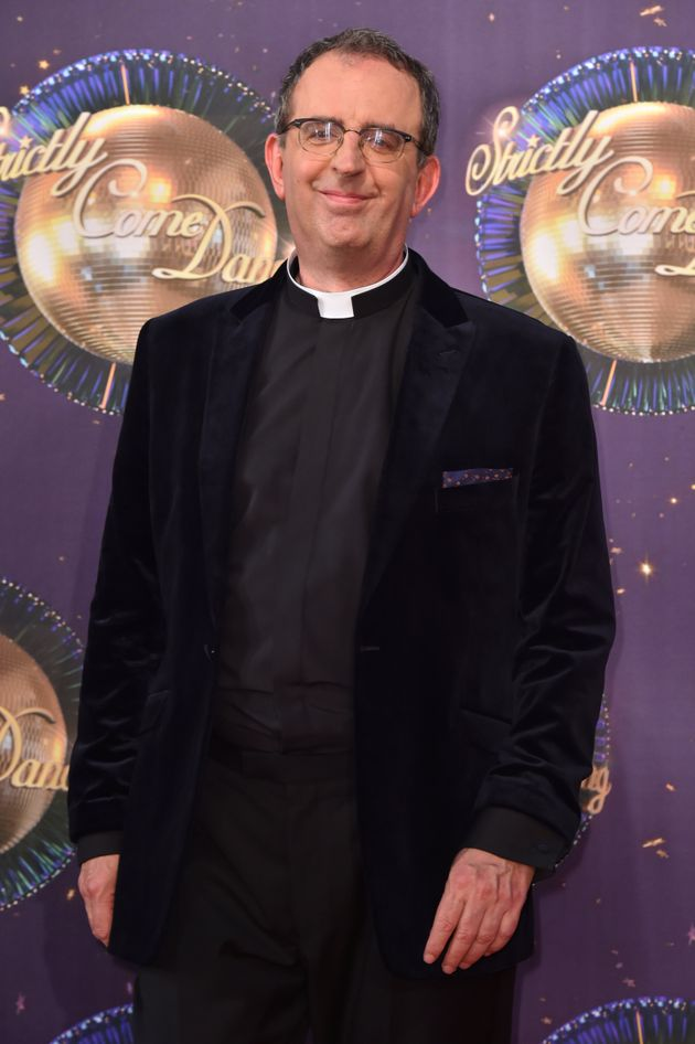 Reverend Richard Coles at the launch of Strictly Come Dancing