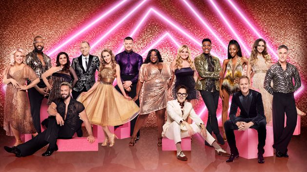 The stars of Strictly Come Dancing